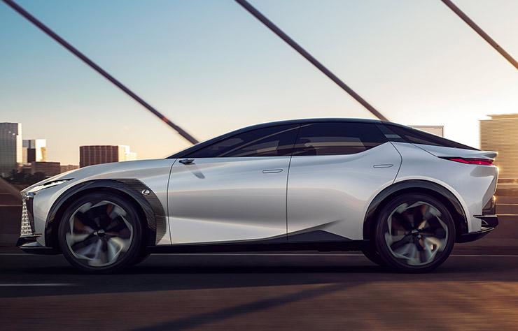 Concept électrique Lexus LF-Z
