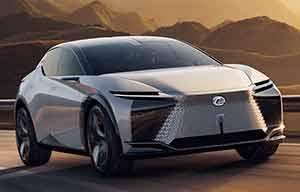 Lexus présente un concept électrique, le LF-Z