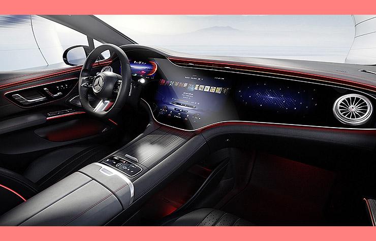 Intérieur Mercedes EQS