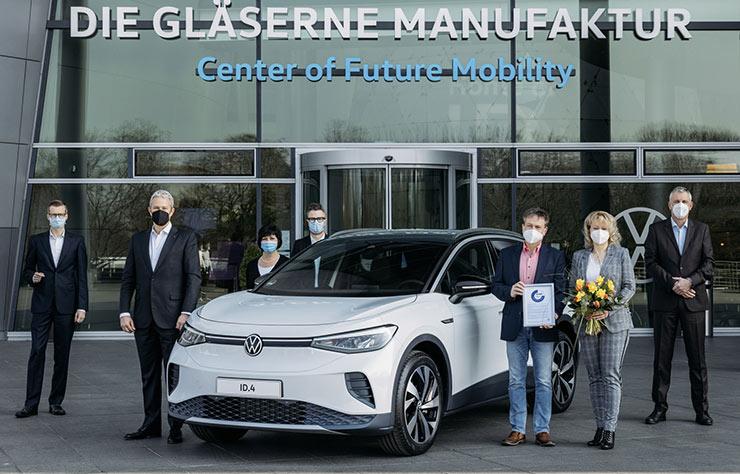 Volkswagen ID.4 électrique