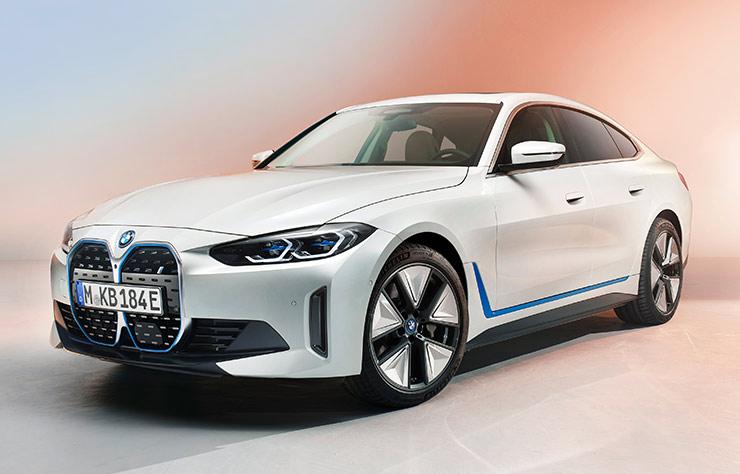 BMW i4 électrique