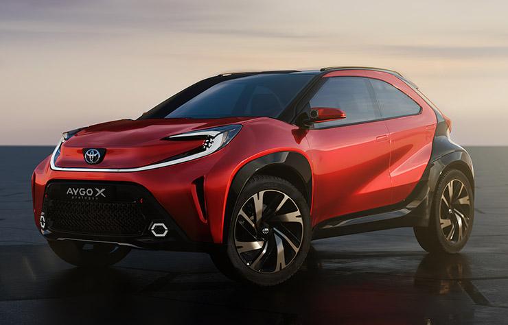 concept Toyota Aygo X Prologue