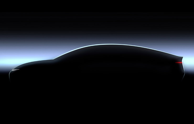 Esquisse Volkswagen électrique de 2026