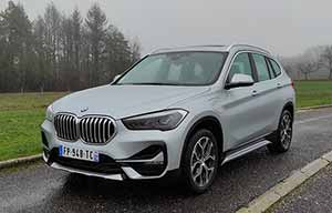 Detailed test: BMW X1 xDrive 25e plug-in hybrid