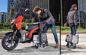 Honda, KTM, Piaggio et Yamaha pour des batteries amovibles standardisées