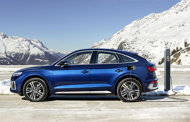Audi Q5 hybride rechargeable