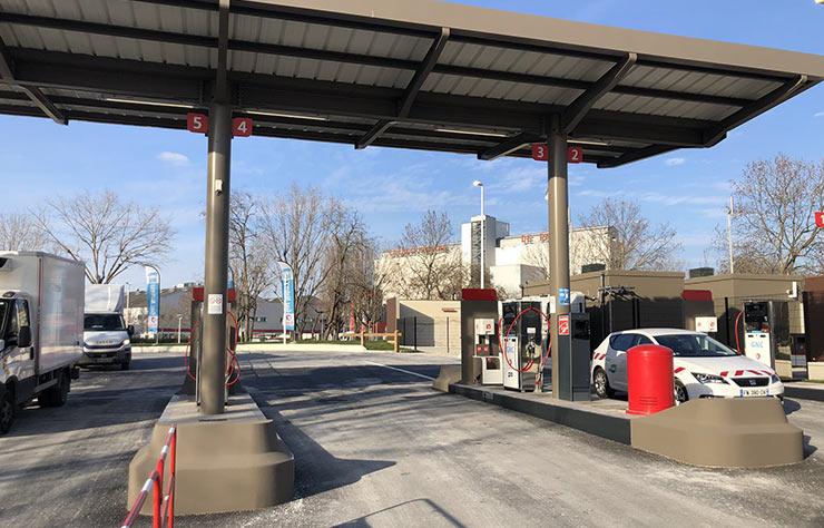 Station Total GNV de Gennevilliers
