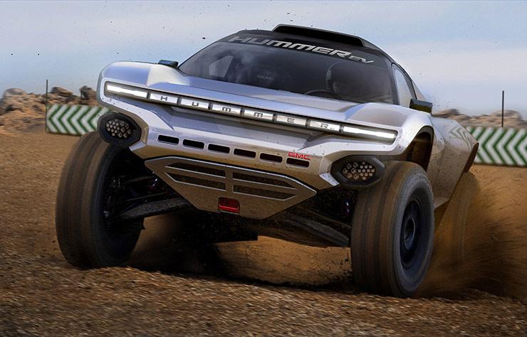 Hummer Extreme E prototype par Chip Ganassi