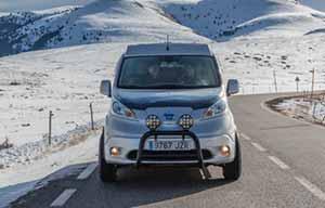 Nissan e-NV200 Winter Camper, camping-car zéro émission