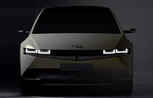 Hyundai Ioniq 5, premiers clichés, désir immédiat