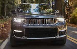 Jeep Grand Cherokee, comme si de rien n'était