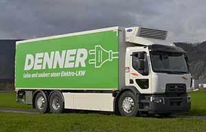 La Suisse plus verte avec un camion électro-solaire