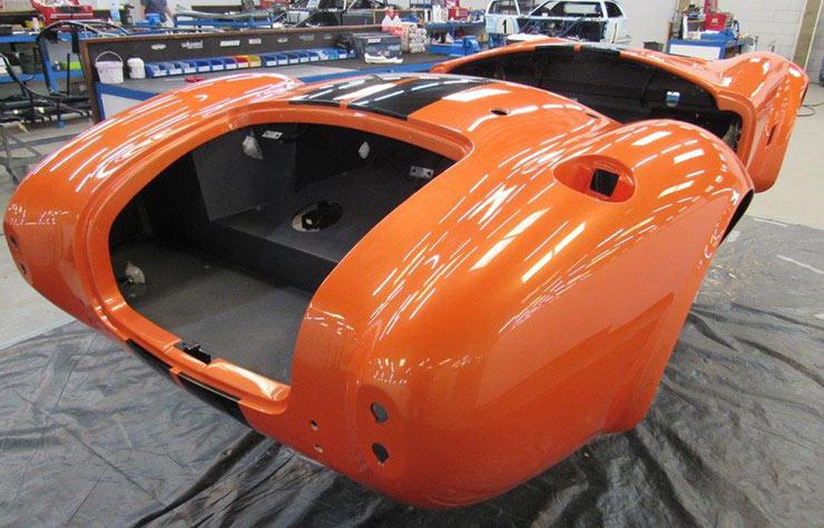 AC Cobra Roadster électrique