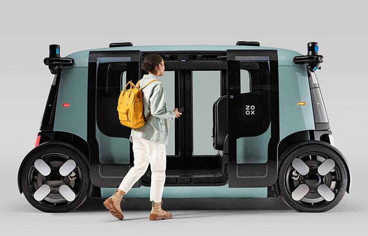 véhicule autonome Zoox