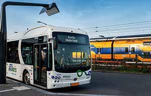 246 autobus électriques d'un coup pour les hollandais