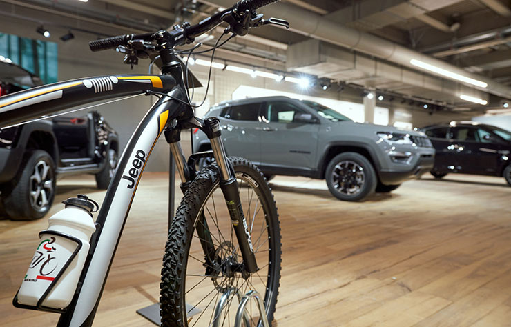 Hall e-Village Motor Fiat à Turin