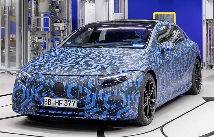 Prototype Mercedes EQS