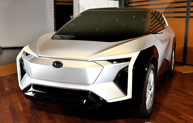 Concept Subaru électrique