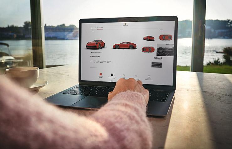 Achat de Porsche en ligne