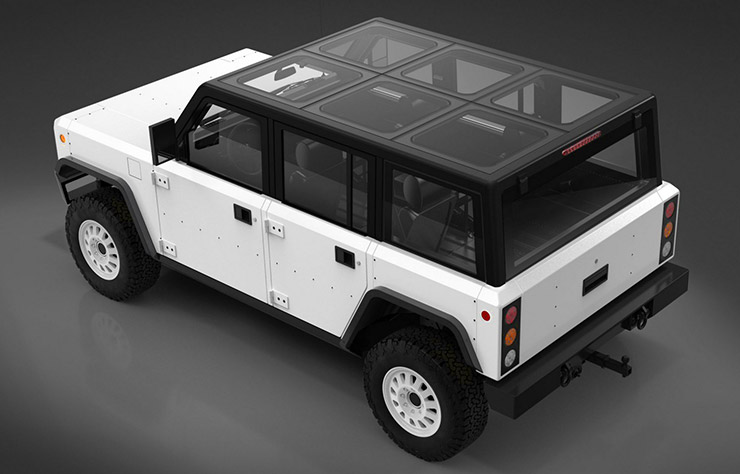 SUV électrique Bollinger B1
