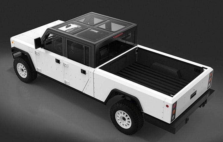 Pick-up électrique Bollinger B2