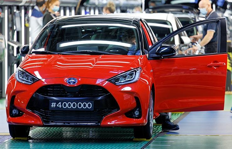 Toyota Yaris, 4 millions d'exemplaires construits en France