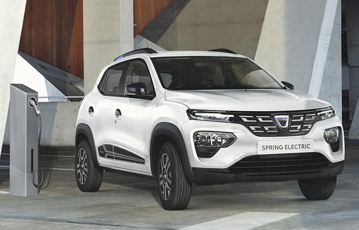Dacia Spring électrique