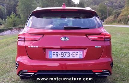Kia Ceed SW hybride rechargeable