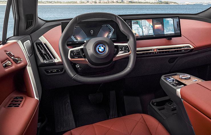 BMW iX électrique de cinquième génération
