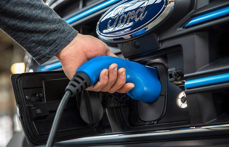 Ford E-Transit électrique