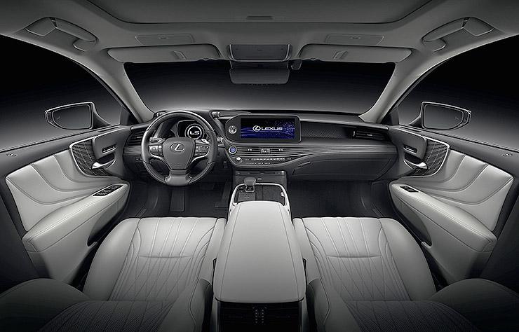 Lexus LS500h hybride