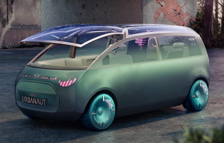 Mini Vision Urbanaut concept électrique