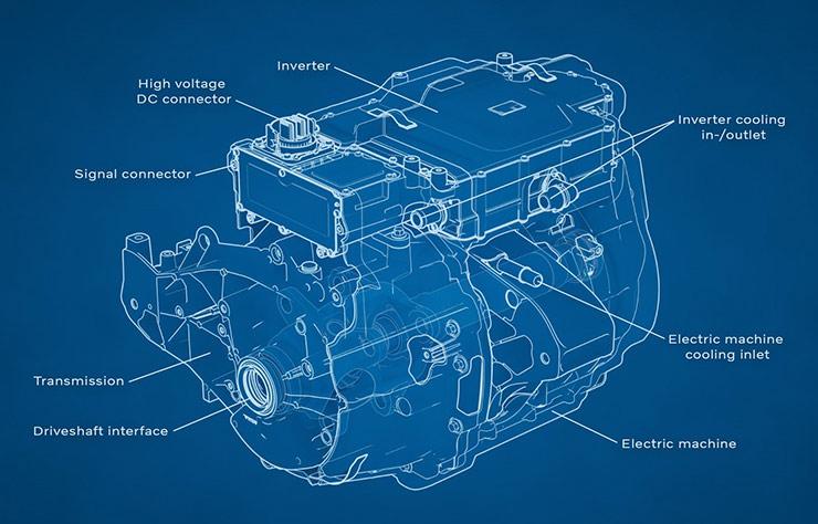 Moteur électrique Volvo