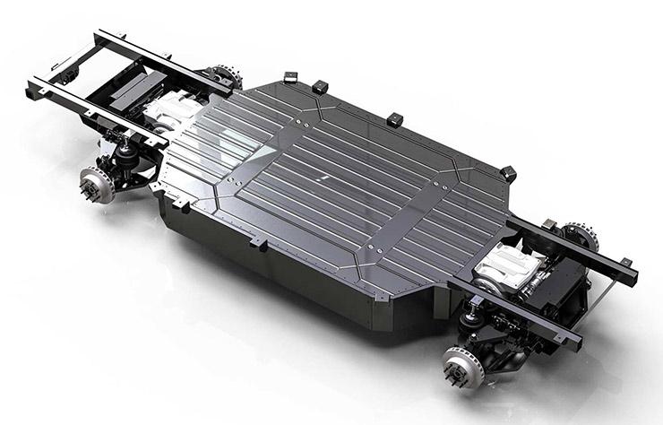 Pick-up électrique Atlis