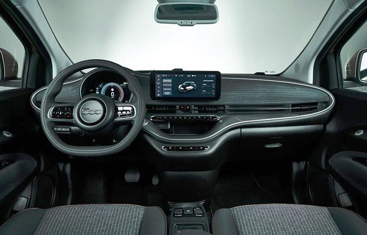 Fiat 500 3 portes électrique