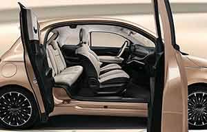 Nouvelle Fiat 500 électrique: elle en a 3