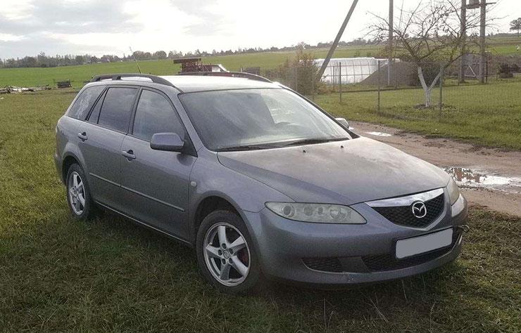 Mazda 6 modèle 2004