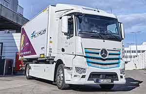Les premiers clients du Mercedes eActros très satisfaits