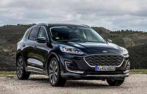 Le Ford Kuga hybride non rechargeable face au diesel