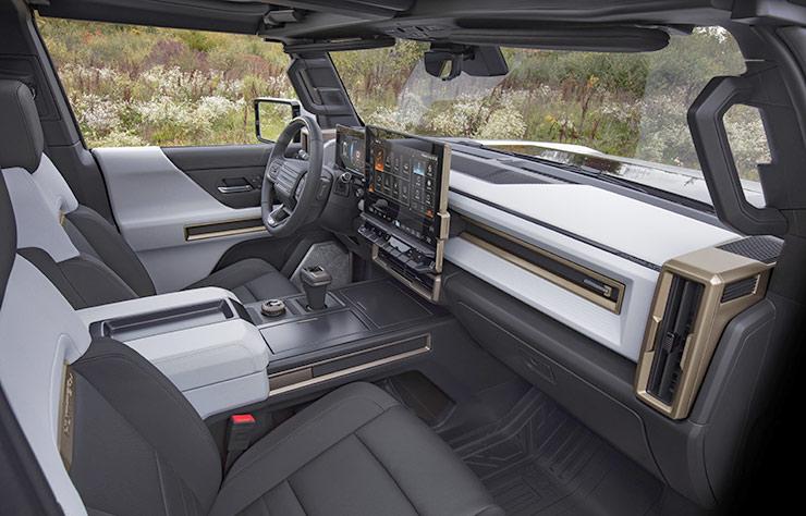 Hummer EV électrique pick-up