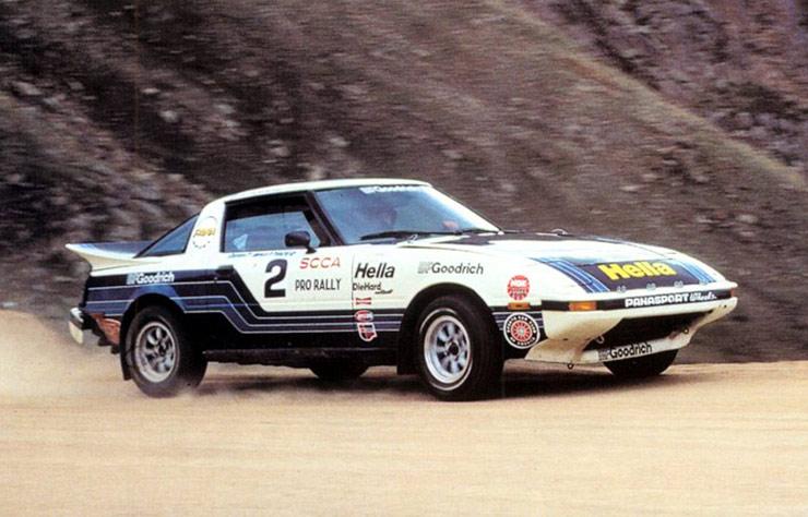 Mazda RX-7 de rally