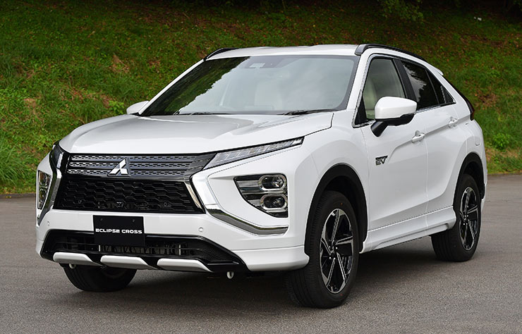 Mitsubishi Eclipse Cross hybride rechargeable