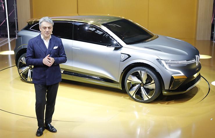 Concept électrique Renault Megane eVision