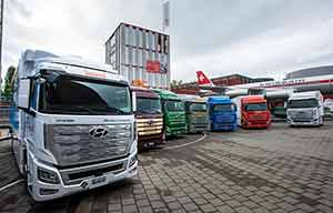 Poids lourds à hydrogène, les Hyundai Xcient sont en service