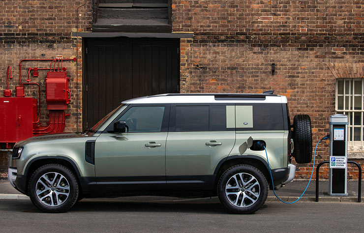 Land Rover Defender 110 hybride rechargeable