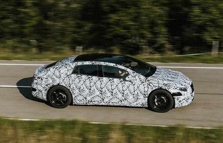 Prototypes Mercedes EQS électrique
