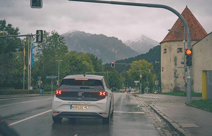 Volkswagen ID.3 tour en Allemagne