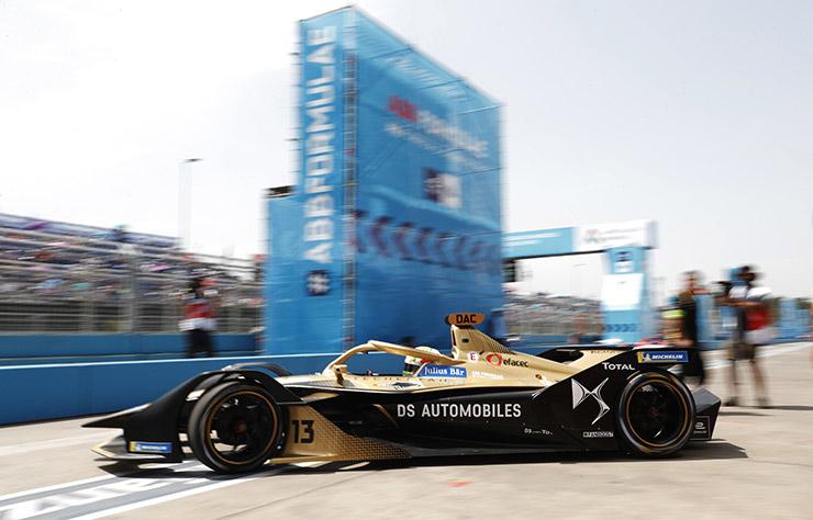 Monoplace DS de Formule E