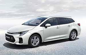 Swace: un break Corolla avec propulseur de Prius pour Suzuki