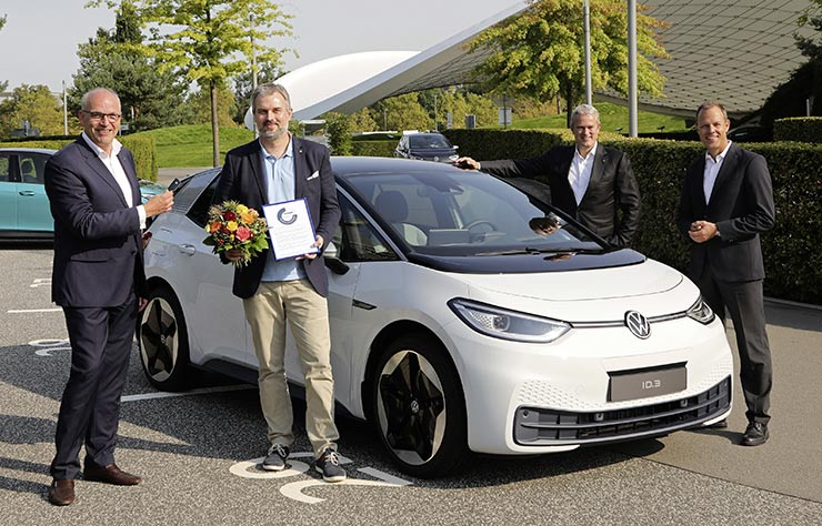 Premières livraisons client de la Volkswagen ID.3 électrique